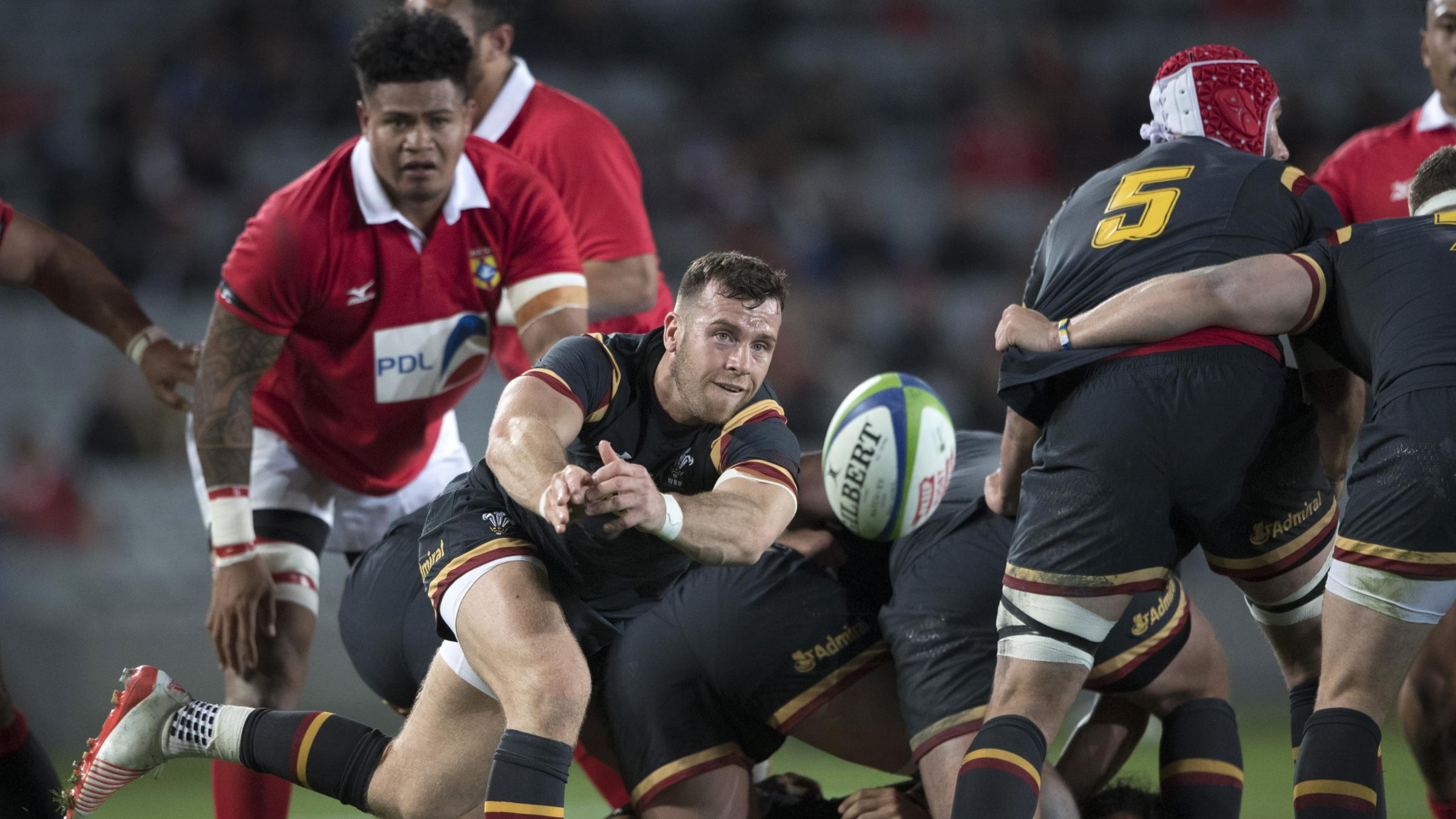 Wales beat Tonga in rugby Test